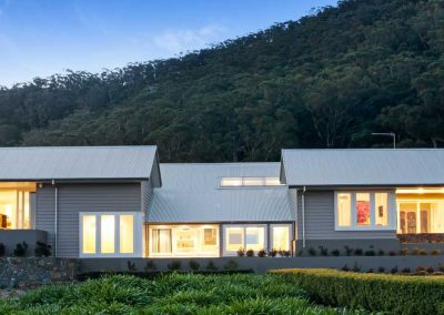Jamberoo Farm House Evening Front