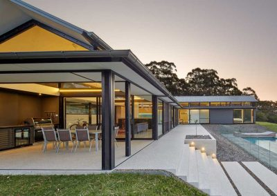 Kangaroo Valley External Pool Area Side