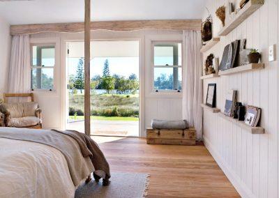 Oxley Island Farmhouse Main Bedroom