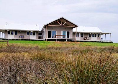 Oxley Island Farmhouse Exterior